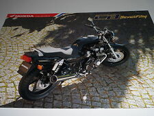 Honda CB750 Motorcycle Sales Brochure 1996