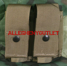 USGI Military USMC SDS 40MM GRENADE POUCH DOUBLE MAG HE Coyote Tan NIB