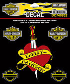 NEW - Authentic - Harley Davidson Decal - HD Ink- Item # DC740832