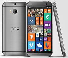 HTC One M8 32GB Gunmetal Gray (AT&T OEM Unlocked) Windows Smartphone  - N/O