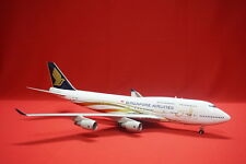 Singapore Airlines 50th Anniversary B747-400 1:200 9V-SMZ Diecast Airplane Model