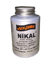 Jet-Lube 13655 NIKAL - Pure Nickel High-Temperature Anti-Seize & Gasket Compound