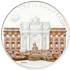 Palau 2012 $5 World of Wonders VI Trevi Fountain Rome 20g Silver Proof Coin