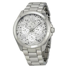 Fossil Cecile Multi-Function Silver Crystal-set Dial Stainless Steel Ladies