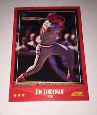 Jim Lindeman (CARDINALS) #302 Score 1988