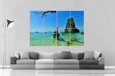 Beach Thailand Wall Art Poster A0 Large print
