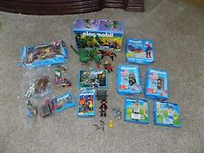 Lot of 8 Complete Vintage Playmobile Sets with Figures and Accessories some New