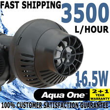 Aqua One Aquarium Fish Tank Submerisble Wave Maker Wave Vibration Reef Pump 3500