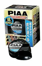 JDM 1PC PIAA HORN LOW TONE 400HZ UNIVERSAL FOR 12V MADE IN JAPAN (HO-3)