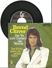 """Bernd Clüver, Das Tor zum Garten der Träume, G/VG  7"""" Single 0606"""