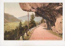 Bruenigstrasse Blick Gegen Brienzersee Switzerland Vintage Postcard 352b