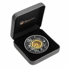 2017 $2 Tuvalu Compass 2oz Silver Antiqued Coin