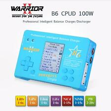 WARRIOR B6 CPSD 100W LiPo Battery Professional Balance Charger/Discharger S1M6