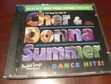 POCKET SONGS KARAOKE DISC PSCDG 1449 CHER & DONNA SUMMER CD+G MULTIPLEX