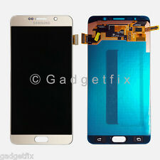 Gold Samsung Galaxy Note 5 N920R4 N920W LCD Display Touch Screen Digitizer Glass