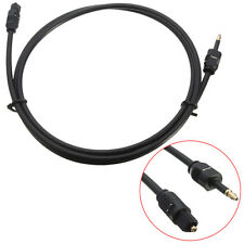 1m 3ft For Toslink to Mini Plug 3.5mm Digital Optical SPDIF Audio Cable Wire