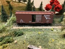 N Scale 1:160 Track Cleaning 40' Box Car Micro Trains Canadian Pacific Railway