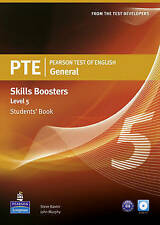 Pearson Test of English General Skills Booster 5 Students' Book and CD Pack (Pea