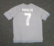 22034 Cristiano Ronaldo #7 Signed GREY Soccer Jersey Autograph XL PSA/DNA COA