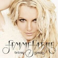 """Britney Spears """"femme fatale"""" CD NUOVO"""