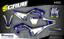 SCRUB Husqvarna graphics kit TC 250 2017  '17 Grafik Dekor-Set