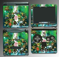 Legend of Zelda Link 20th Anniversary Special Edition Game Skin Nintendo GBA SP