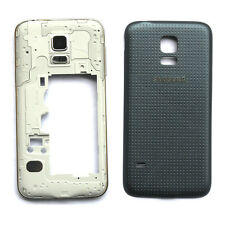 New Black For Samsung Galaxy S5 Mini G800 Mid-Frame+Battey Cover
