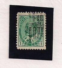 Canada #89            1903-8  1c King Edward VII  (A)