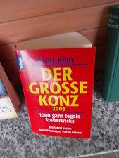 Der grosse Konz 2006, von Franz Konz, aus dem Knaur Verlag