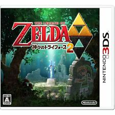USED Nintendo 3DS The Legend of Zelda A Link to the Past 2 From JAPAN