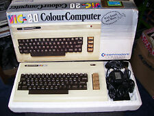 RARE VINTAGE COMMODORE VIC 20 COMPUTER SYSTEM (VGC BOXED)
