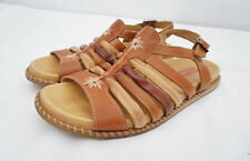 Pikolinos Womens Comfort Leather Ankle Strap Gladiator Strappy Sandals Sz 37 7