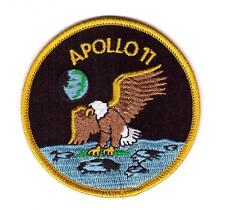 Patch Écusson NASA APOLLO XI Thermocollant Apollo 11 taille : 7.5 cm