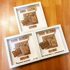 �� New Home Personalised Gift/House Warming/wedding Present Frame