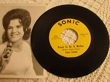 ADELE VARNER PROUD TO BE A MOTHER/WASTIN HIS TIME SONIC 5624 WITH PHOTO  M-