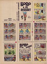 Mini-Récit Spirou 246 ( Non monté) - Bobo a du ressort - BE