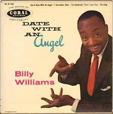 """BILLY WILLIAMS """"DATE WITH AN ANGEL"""" 50'S EP CORAL EC 81163"""