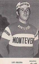 LUIS ABILLEIRA Cyclisme ciclismo MONTEVERDE SANSON 75 La Vuelta vélo ciclista