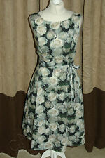 Phase Eight / 8 Jardin Rose fit and flare dress Size 12 worn once