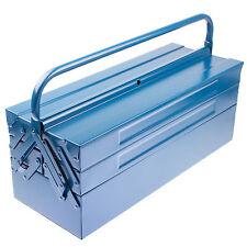 Montage Koffer Metall Werkzeugkasten Werkzeugbox Werkzeugkiste Leer Kiste
