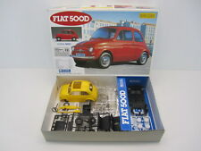 kit 1:24 FIAT 500 D [GUNZE SANGYO G-191] Yellow full painted with Tamiya TS16
