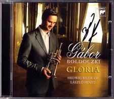 Gabor BOLDOCZKI Signiert GLORIA Bach Handel Purcell Albinoni Caccini Trumpet CD