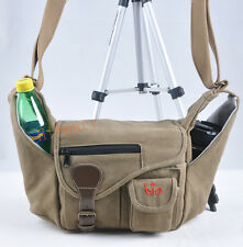 canvas Camera bag case for Nikon D7200 D600 D7000 D7100 D3200 D5200 D750 D5500