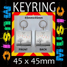 WALKING ON CARS EVERYTHING THIS WAY -CD COVER KEYRING –KEY CHAIN 45X45MM #4