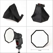 0.2m Small Octagonal Softbox for Camera Speedlite/Flashgun with Carry Bag