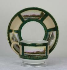 Antique Russian Soviet Porcelain Art Deco Tea Cup by Proletariy fact 1927 #2