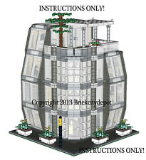 Lego Custom Modern Modular Building -Architecture Firm -INSTRUCTIONS ONLY!