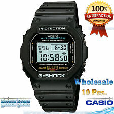 Lot of 10 Casio Men G-Shock Classic Digital Watch 200M WR! DW5600E-1V Wholesale