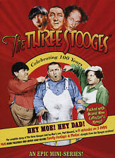 THE THREE STOOGES: HEY MOE! HEY DAD! (NEW DVD)