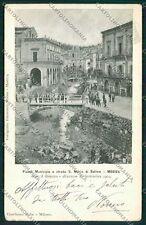 Ragusa Modica Alluvione 1902 cartolina QQ0624
